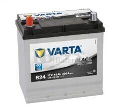 Bater�a VARTA 12 Voltios 45 Ah Black Dynamic 545 079 030 Ref.B24 EN 300A 219X135X225