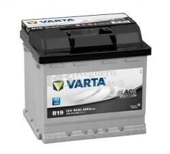 Bater�a VARTA 12 Voltios 45 Ah Black Dynamic 545 412 040 Ref.B19 EN 400A 207X175X190