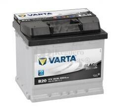 Batería VARTA 12 Voltios 45 Ah Black Dynamic 545 413 040 Ref.B20 EN 400A 207X175X190