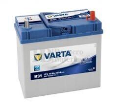 Batería VARTA 12 Voltios 45 Ah Blue Dynamic 545 155 033 Ref.B31 EN 330A 238X129X227