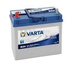 Batería VARTA 12 Voltios 45 Ah Blue Dynamic 545 158 033 Ref.B34 EN 330A 238X129X227
