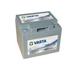Batería VARTA 12 Voltios 50 Ah Profesional Deep Cycle AGM 830 050 035 Ref.LAD50B EN 318A 198X166X171