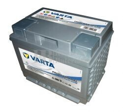 Batería VARTA 12 Voltios 50 Ah Profesional Deep Cycle AGM 830 050 044 Ref.LAD50A EN 400A 241X175X190