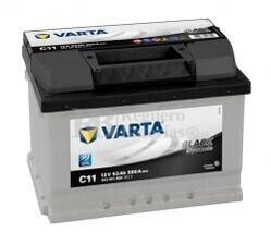 Batería VARTA 12 Voltios 53 Ah Black Dynamic 553 401 050 Ref.C11 EN 500A 242X175X175
