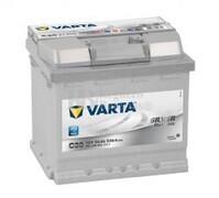 Batería VARTA 12 Voltios 54 Ah Silver Dynamic 554 400 053 Ref. C30 EN 530A 207X175X190