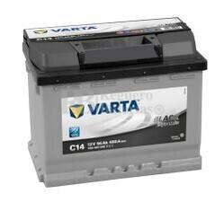 Batería VARTA 12 Voltios 56 Ah Black Dynamic 556 400 048 Ref.C14 EN 480A 242X175X190