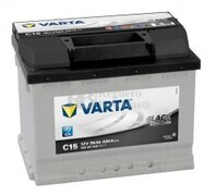 Batería VARTA 12 Voltios 56 Ah Black Dynamic 556 401 048 Ref.C15 EN 480A 242X175X190