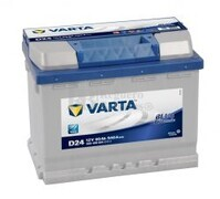 Batería VARTA 12 Voltios 60 Ah Blue Dynamic 560 408 054 Ref.D24 EN 540A 242X175X190