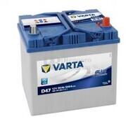 Batería VARTA 12 Voltios 60 Ah Blue Dynamic 560 410 054 Ref.D47 EN 540A 232X173X225