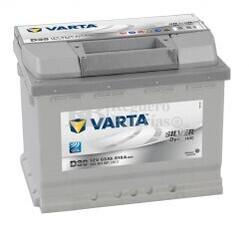 Bater�a VARTA 12 Voltios 63 Ah Silver Dynamic 563 401 061 Ref. D39 EN 610A 242X175X190