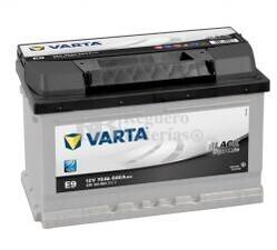 Bater�a VARTA 12 Voltios 70 Ah Black Dynamic 570 144 064 Ref.E9 EN 640A 278X175X175