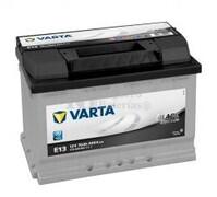Batería VARTA 12 Voltios 70 Ah Black Dynamic 570 409 064 Ref.E13 EN 640A 278X175X190