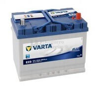 Batería VARTA 12 Voltios 70 Ah Blue Dynamic 570 412 063 Ref.E23 EN 630A 261X175X220