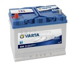 Batería VARTA 12 Voltios 70 Ah Blue Dynamic 570 413 063 Ref.E24 EN 630A 261X175X220