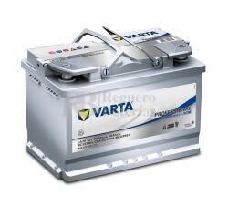 Batería VARTA 12 Voltios 70 Ah Profesional Dual Purpose AGM 840 070 076 Ref.LA70 EN 760A 278X175X190