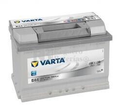 Batería VARTA 12 Voltios 77 Ah Silver Dynamic 577 400 078 Ref.E44 EN 780A 278X175X190