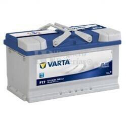 Batería VARTA 12 Voltios 80 Ah Blue Dynamic 580 406 074 Ref.F17 EN 740A 315X175X175