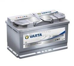 Batería VARTA 12 Voltios 80 Ah Profesional Dual Purpose AGM 840 080 080 Ref.LA80 EN 800A 315X175X190
