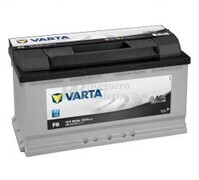 Batería VARTA 12 Voltios 90 Ah Black Dynamic 590 122 072 Ref.F6 EN 720A 353X175X190