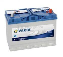 Batería VARTA 12 Voltios 95 Ah Blue Dynamic 595 404 083 Ref.G7 EN 830A 306X173X225