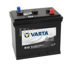 Batería VARTA 6 Voltios 140 Ah Promotive Black 140 023 072 Ref.K13 EN 720A 260X175X236