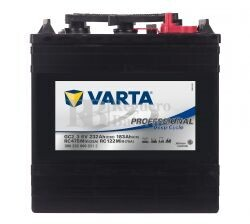 Bater�a VARTA 6 Voltios 232 Ah Profesional Deep Cycle 300 232 000 Ref.GC2_3 260X181X283