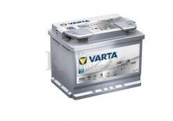 Batería VARTA START-STOP 12 Voltios 60 Ah Silver Dynamic AGM 560 901 068 Ref.D52 EN 680A 242X175X190