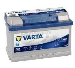 Batería VARTA START-STOP 12 Voltios 65 Ah Blue Dynamic EFB 560 500 065 Ref.D54 EN 650A 278X175X175