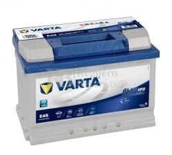 Batería VARTA START-STOP 12 Voltios 70 Ah Blue Dynamic EFB 570 500 065 Ref.E45 EN 650A 278X175X190