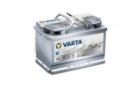 Batería VARTA START-STOP 12 Voltios 70 Ah Silver Dynamic AGM 570 901 076 Ref.E39 EN 760A 278X175X190