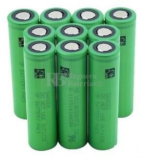 Batería VTC6 18650 Caja 10 Unidades