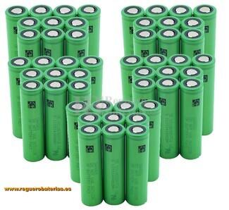 Batería VTC6 18650 Caja 100 Unidades