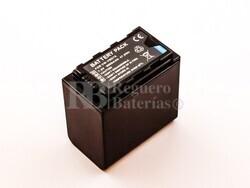 Batería VW-VBD58 para Panasonic Li-ion, 7,2V, 6600mAh, 47,5Wh