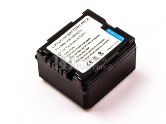Batería VW-VBG070 para Panasonic HDC-TM30, HDC-TM300, HDC-TM300P, HDC-TM300PC, HDC-TM350