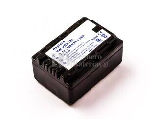 Bateria VW-VBK180, Li-ion, 3,7V, 1700mAh, 6,3Wh, black para camaras Panasonic