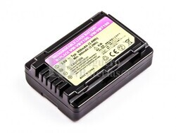 Batería VW-VBY100 para cámaras Panasonic HC-V110, HC-V110GK, HC-V110K, HC-V110P,