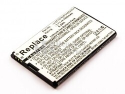 Bater�a VZWAC30BAT, Li3711T42P3h654246, Li3715T42P3H654251 para Vodafone, ZTE, T-Mobile, Verizon
