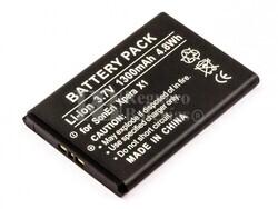 Bateria Xperia X1, Li-ion, para telefonos Sony Ericsson, 3,7V, 1300mAh, 4,8Wh
