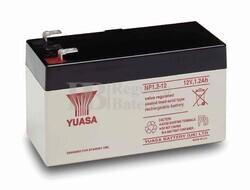 Batería 12 Voltios 1,2 Amperios YUASA NP1.2-12Y