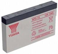 Batería 12 Voltios 2 Amperios YUASA NP2-12Y