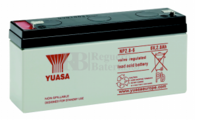 Batería  6 Voltios 2,8 Amperios YUASA NP2.8-6Y