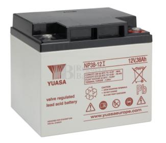 Bateria Yuasa NP38-12  12 Voltios 38 Amperios 197 x 165 x 170 mm