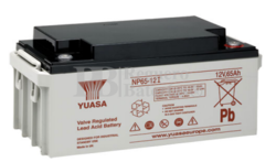 Batería 12 Voltios 65 Amperios Yuasa NP65-12Y