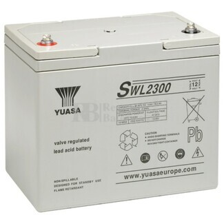 Bateria Yuasa SWL2300E 12 Voltios 80 Amperios  261x168x225mm