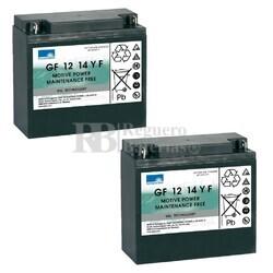 Baterías Movilidad 12V 14A Gel Dryft GF1214YF