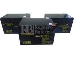 Baterías 36 Voltios 14 Amperios para Kart Alto Rendimiento