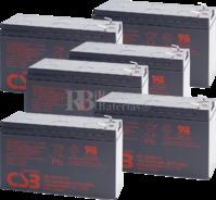 Baterías CSB GP1272F2 para SAI Pack 6 Baterías