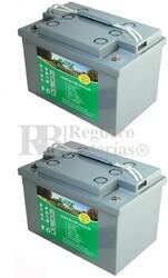 Baterías Gel silla de ruedas 12 Voltios 65 Amperios Haze EV12-65