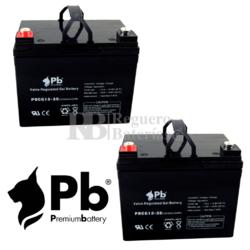 Baterías de GEL para silla Movilidad 12 Voltios 35 Amperios PBCG12-35