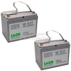 Baterías de Litio Silla Movilidad 12 Voltios 32 Amperios LVIF32-12